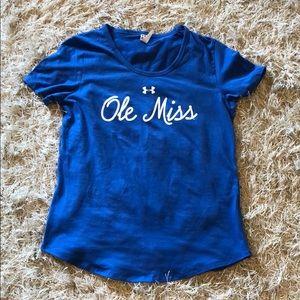Under Armour Ole Miss Shirt